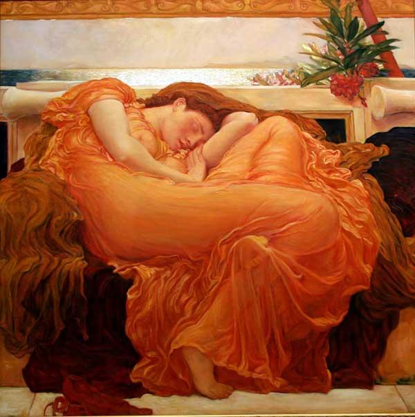 [재미있는 미술이야기] 프리데릭 레이턴 - 아름다움이 선사하는 휴식